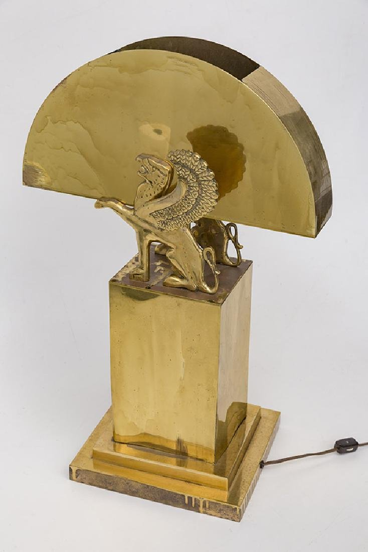 Karl Springer Style Table Lamp - 3