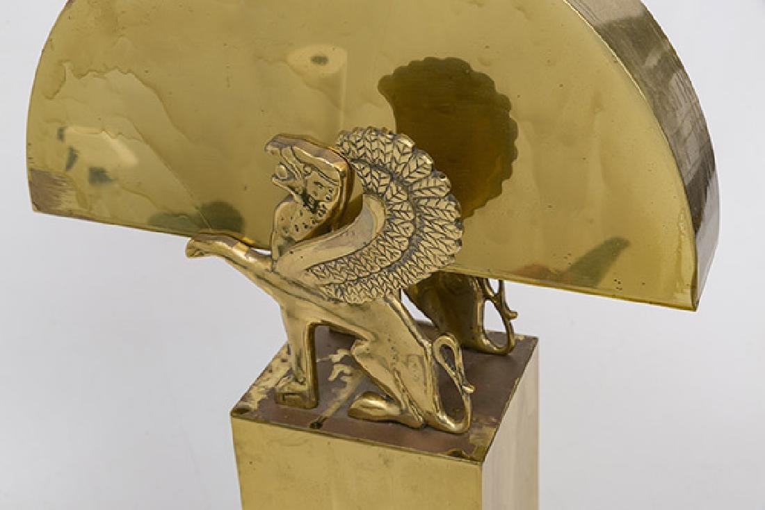 Karl Springer Style Table Lamp - 4