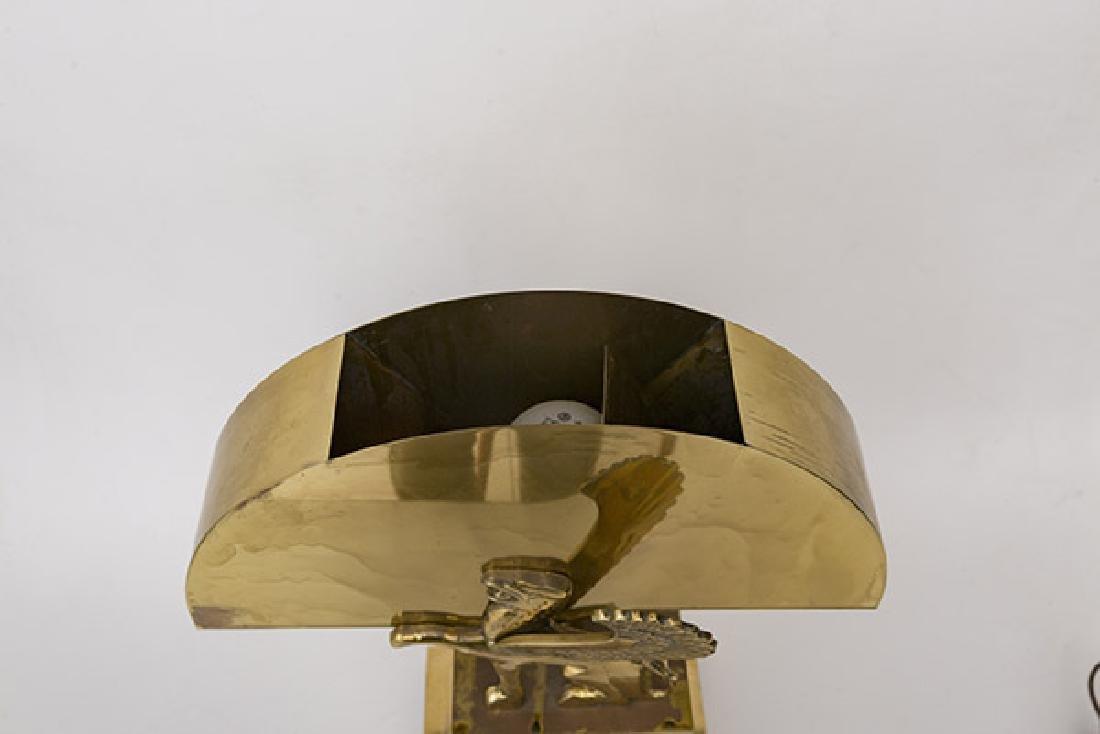 Karl Springer Style Table Lamp - 5