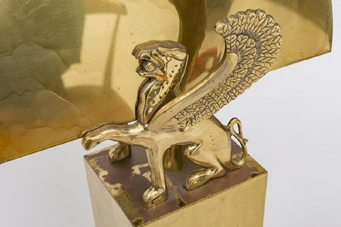 Karl Springer Style Table Lamp - 6