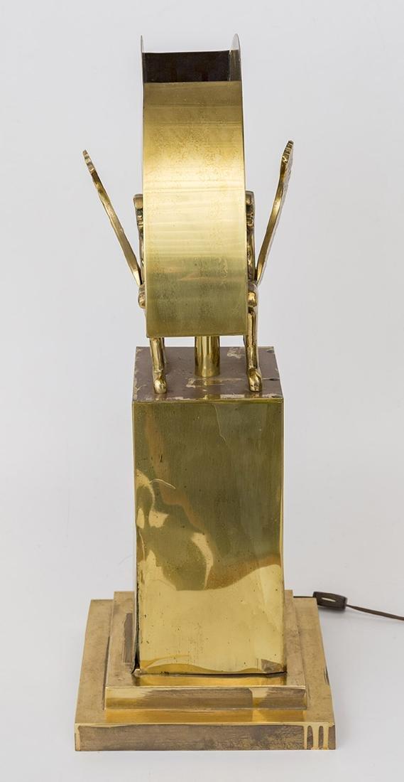 Karl Springer Style Table Lamp - 7