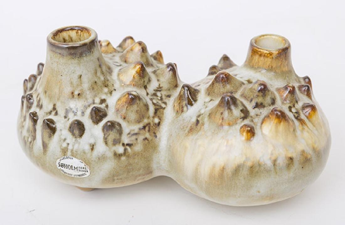 Einar Johansen Double Organic Vase - 2