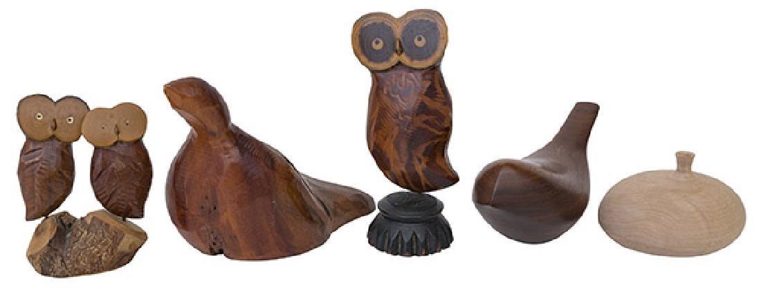 Martin Tischker & Roger Sloan Wood Sculptures