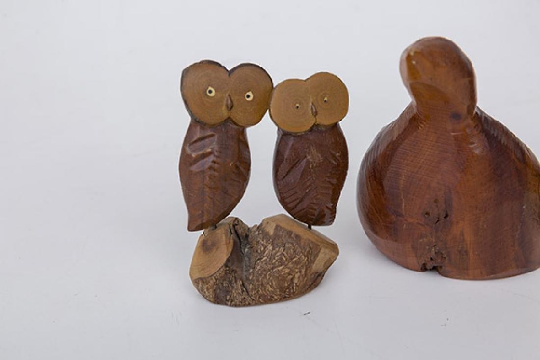 Martin Tischker & Roger Sloan Wood Sculptures - 3