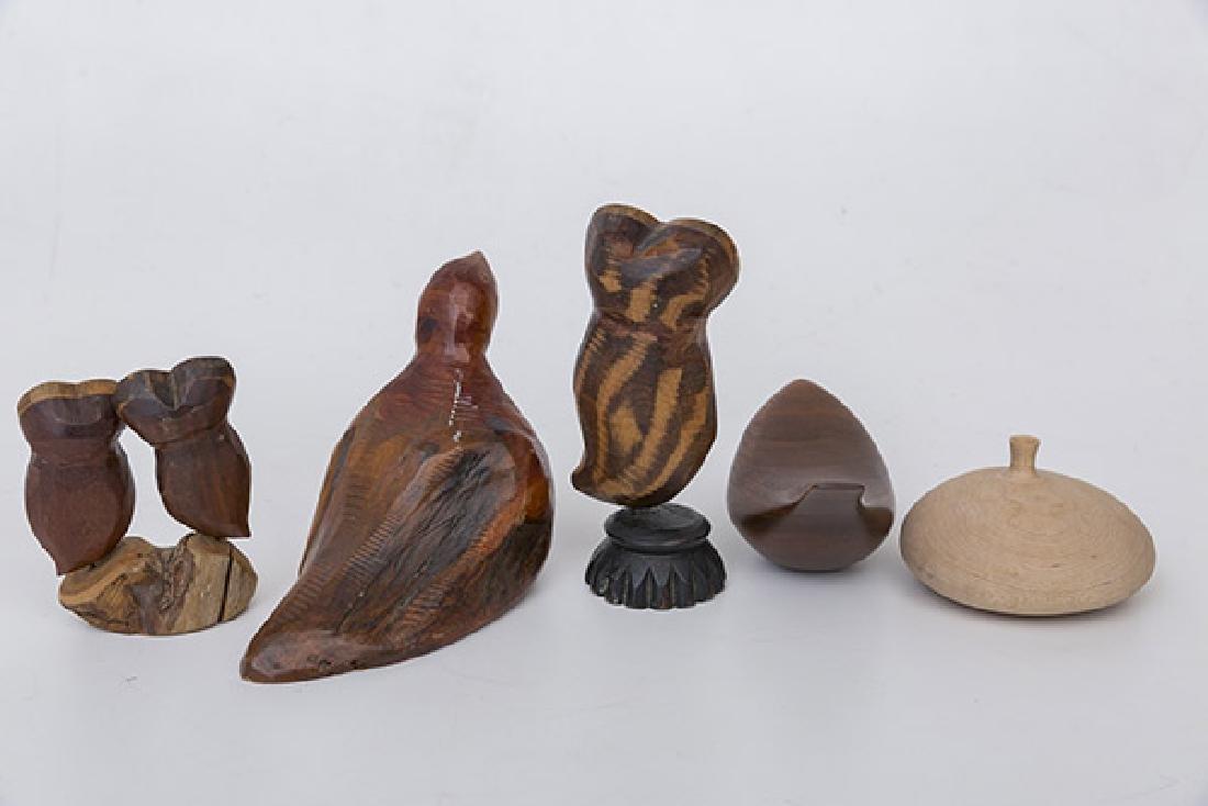 Martin Tischker & Roger Sloan Wood Sculptures - 5