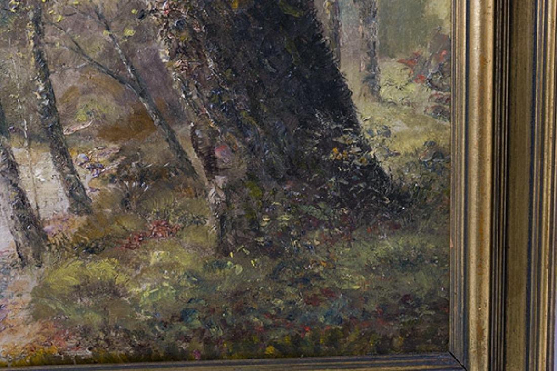 Charles A. Meurer (1865-1955) (Cincinnati, Ohio) Oil - 3