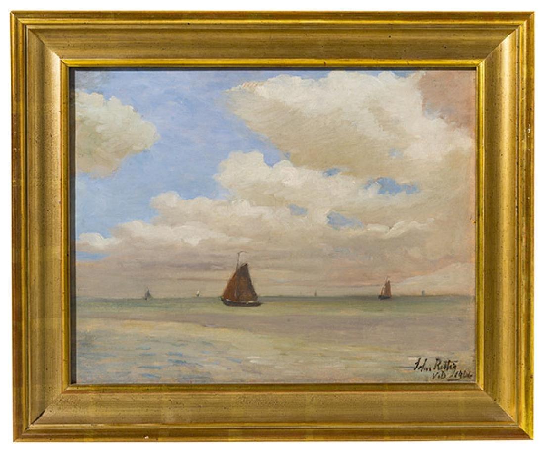John Rettig (1858-1932) Cincinnati, Ohio, Oil