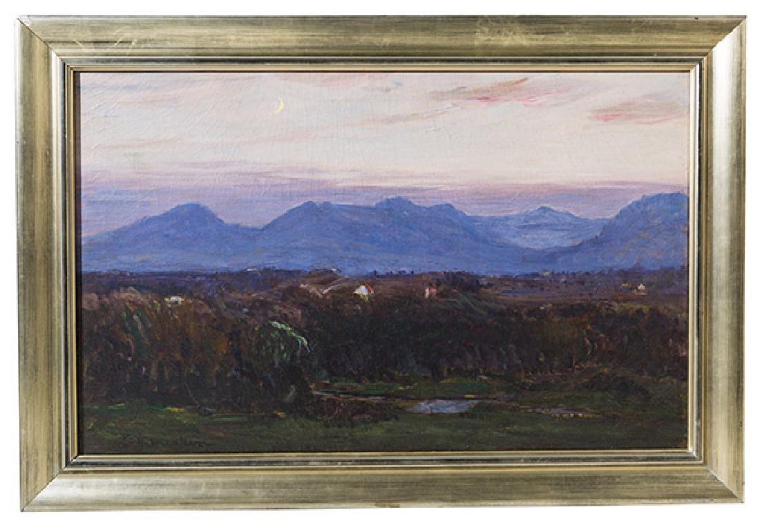 Lewis Henry Meakin (1850-1917) Oil