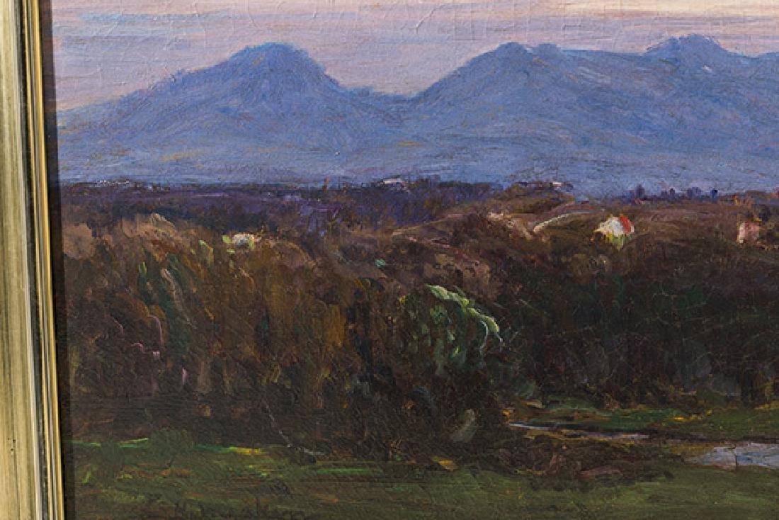 Lewis Henry Meakin (1850-1917) Oil - 3