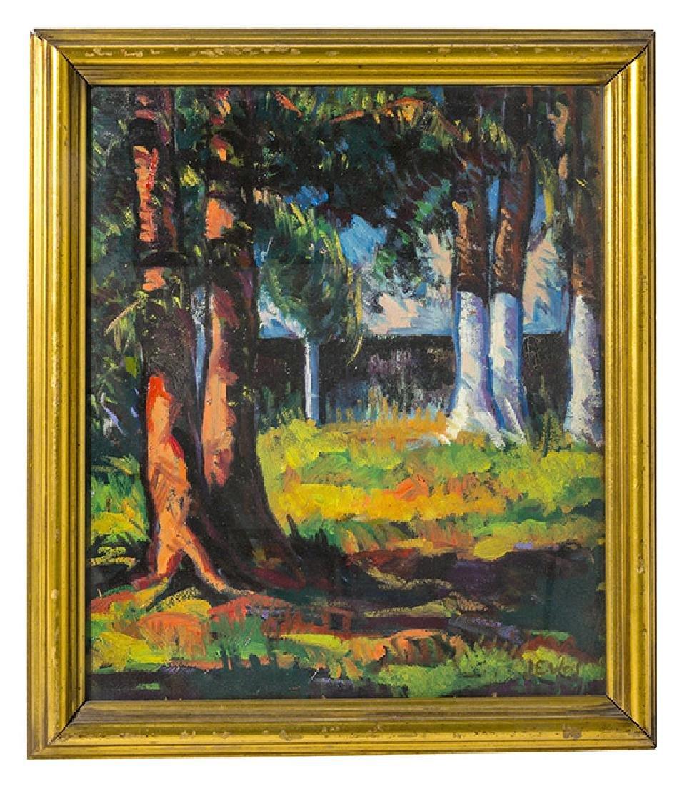 John Ellsworth Weis (1892-1962) Oil