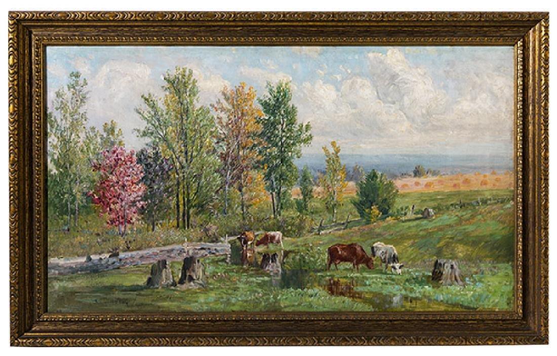 Thomas Corwin Lindsay (1839-1907) Oil