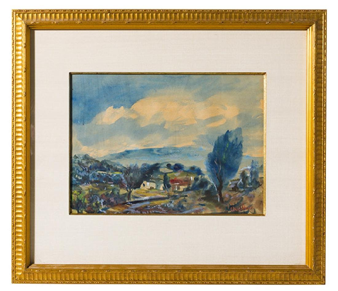 Paul Childlaw (1900-1989) (Cleves, Ohio) Watercolor