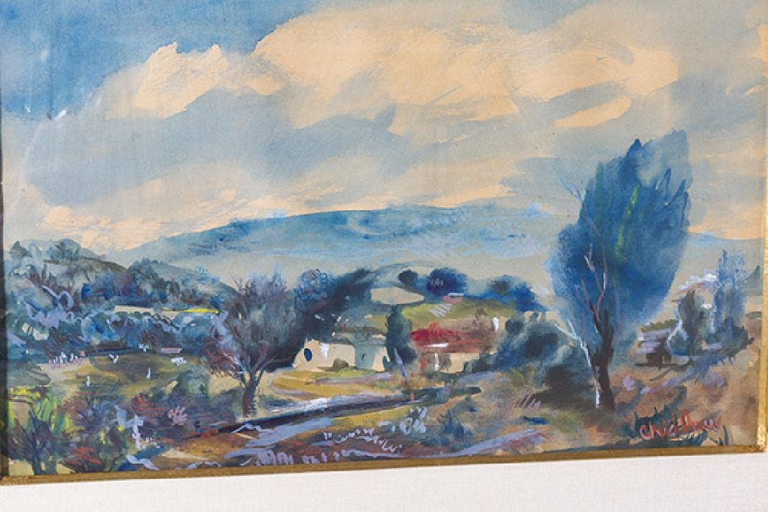 Paul Childlaw (1900-1989) (Cleves, Ohio) Watercolor - 4