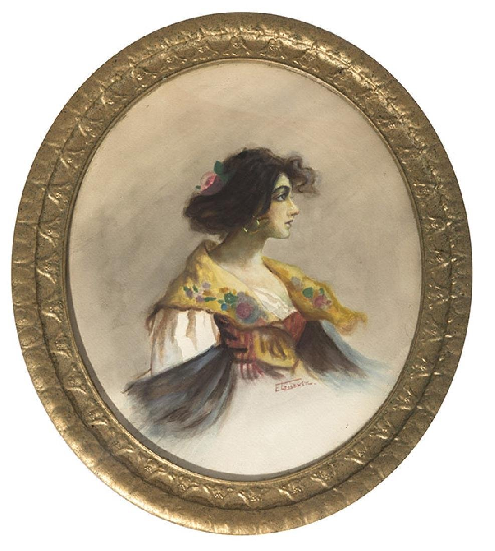 E. Goodwin Watercolor