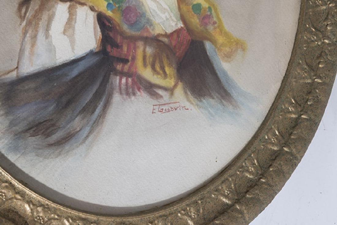 E. Goodwin Watercolor - 2