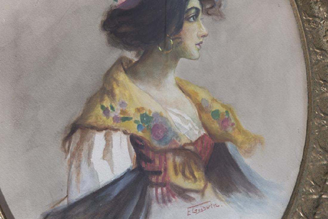 E. Goodwin Watercolor - 3