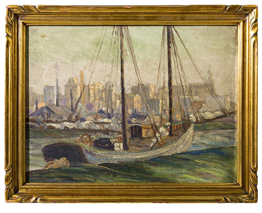 Henry Bainbridge McCarter (1866-1942) Oil