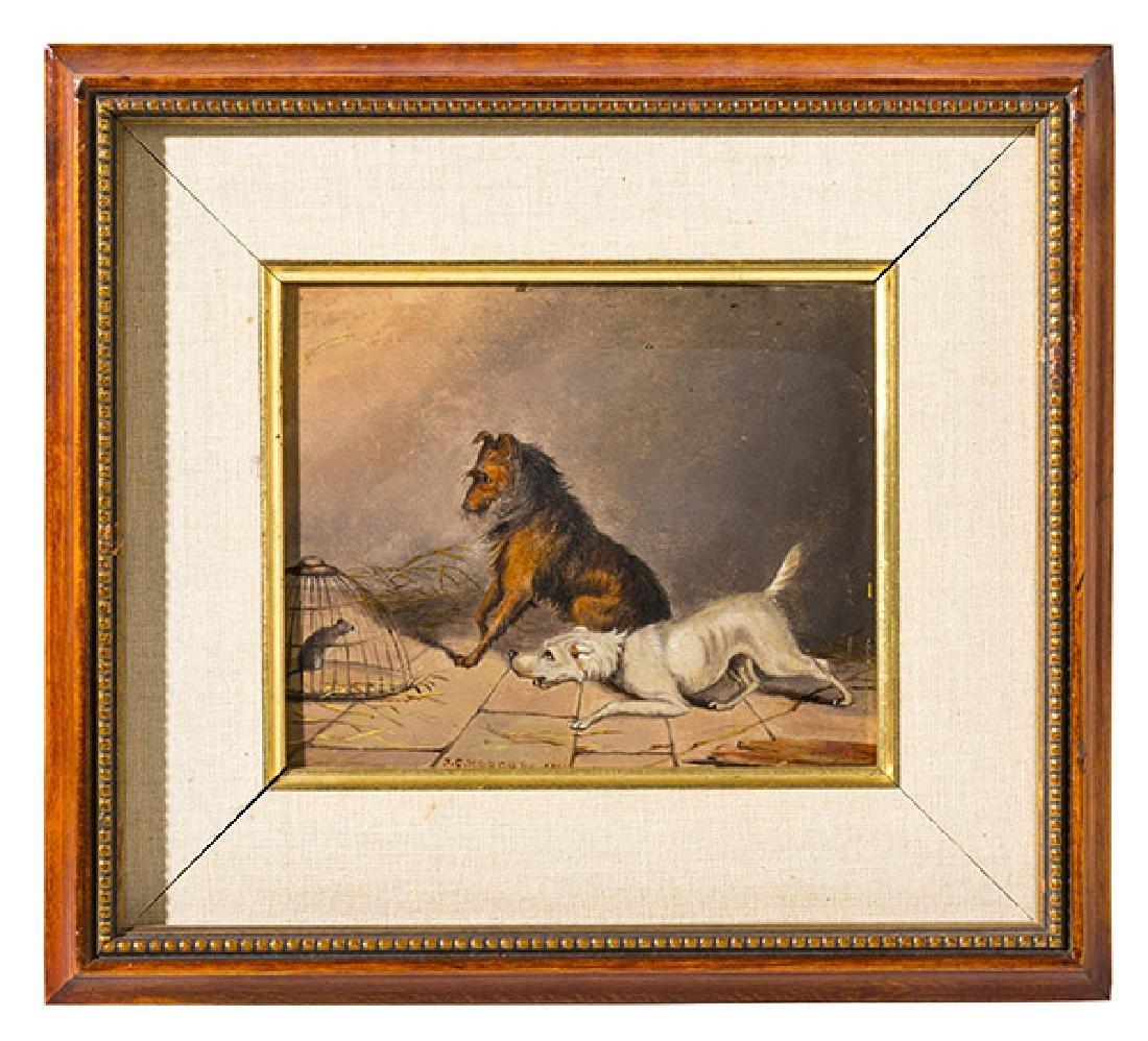 J.C. Rogers (b.1863) Oil