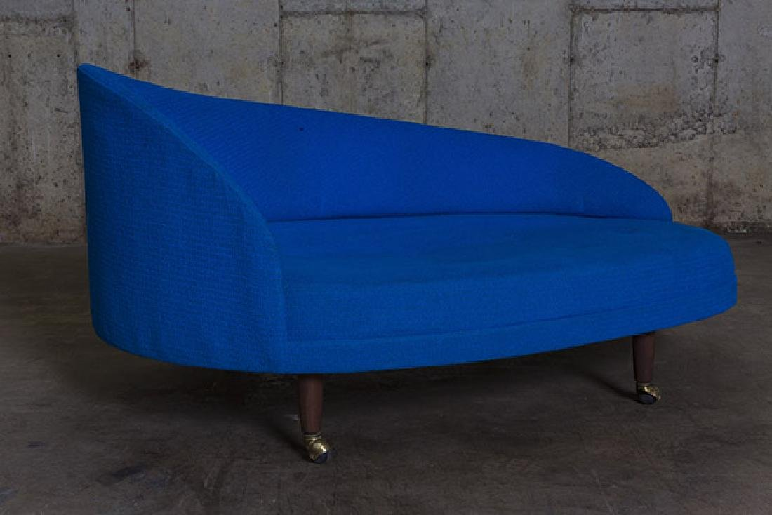 Adrian Pearsall Curved Chaise Lounge - 3