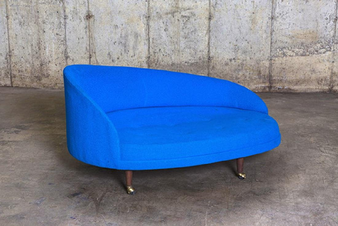 Adrian Pearsall Curved Chaise Lounge - 7