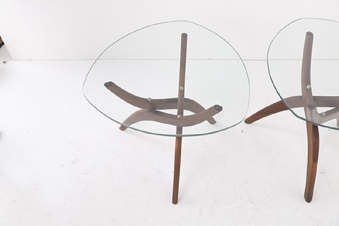 Pair Forest Wilson Sculptural Tables - 3