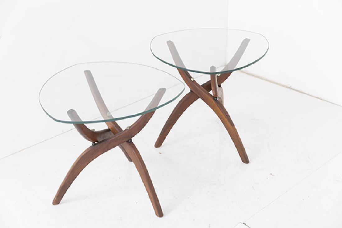 Pair Forest Wilson Sculptural Tables - 4