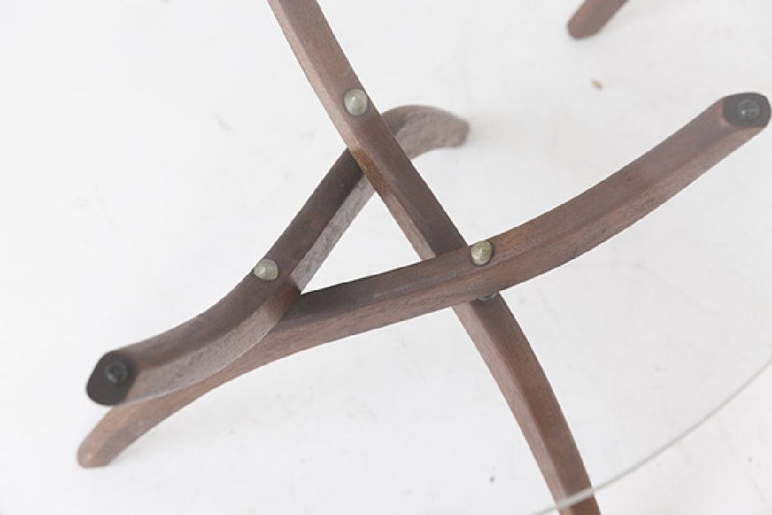 Pair Forest Wilson Sculptural Tables - 5
