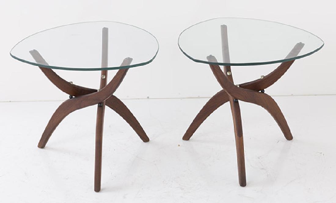 Pair Forest Wilson Sculptural Tables - 8