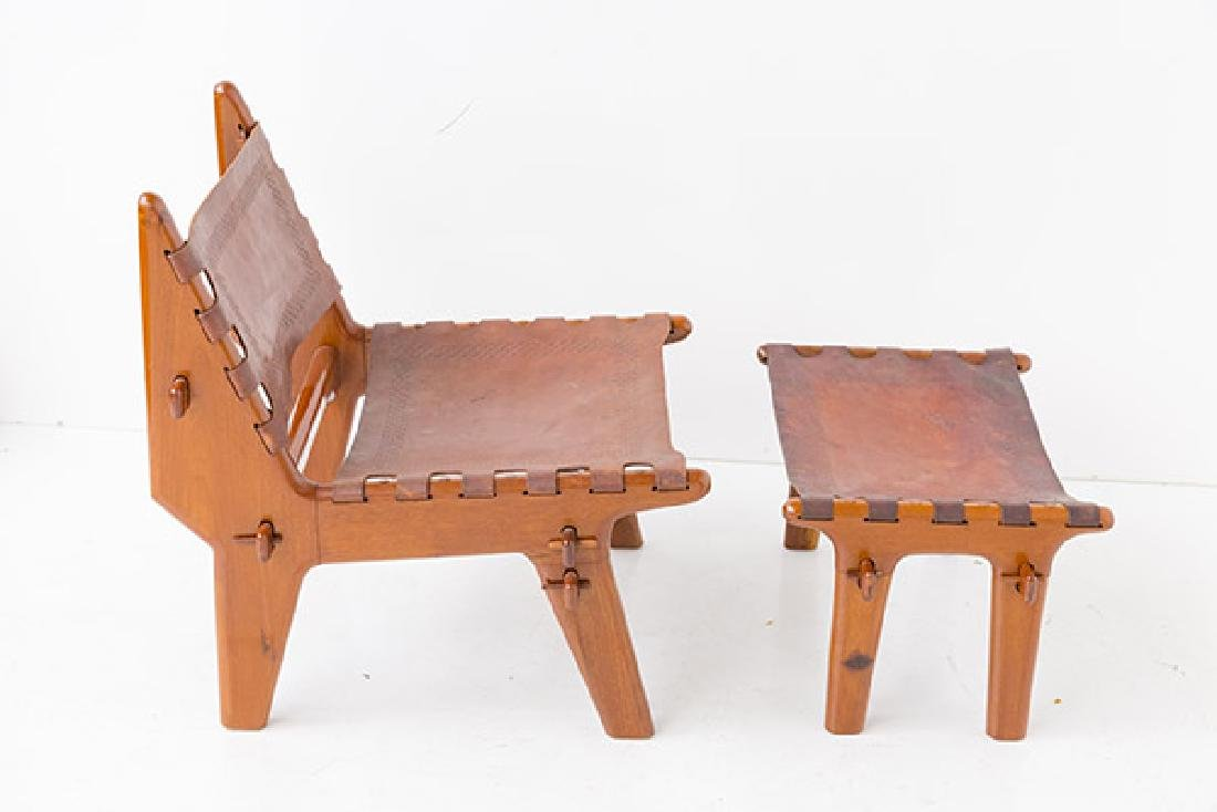 Angel Pazino Easy Chair/ Ottoman/ Stool - 5