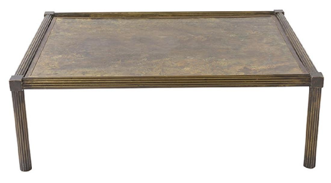 "Philip and Kelvin Laverne ""Classical"" Coffee Table"