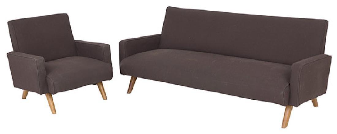 Gio Ponti (Attribution) Sofa & Chair