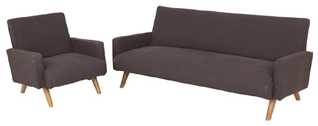 Gio Ponti (Attribution) Sofa & Chair