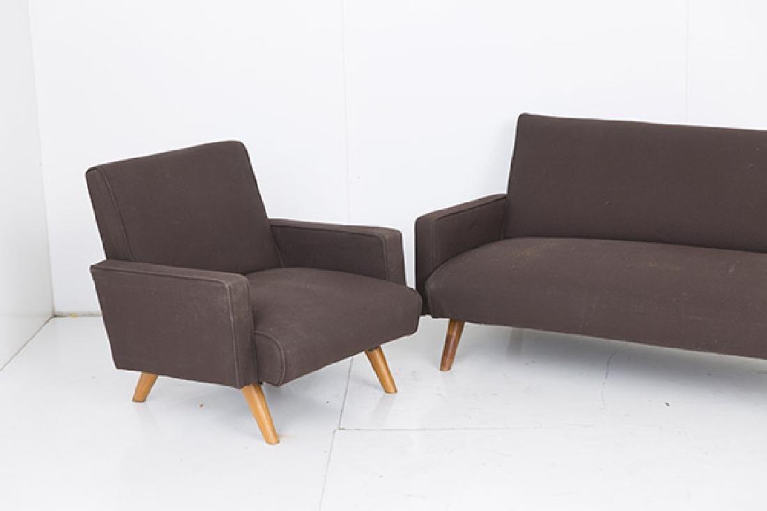 Gio Ponti (Attribution) Sofa & Chair - 2