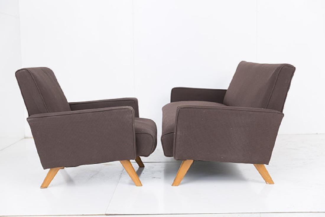 Gio Ponti (Attribution) Sofa & Chair - 6