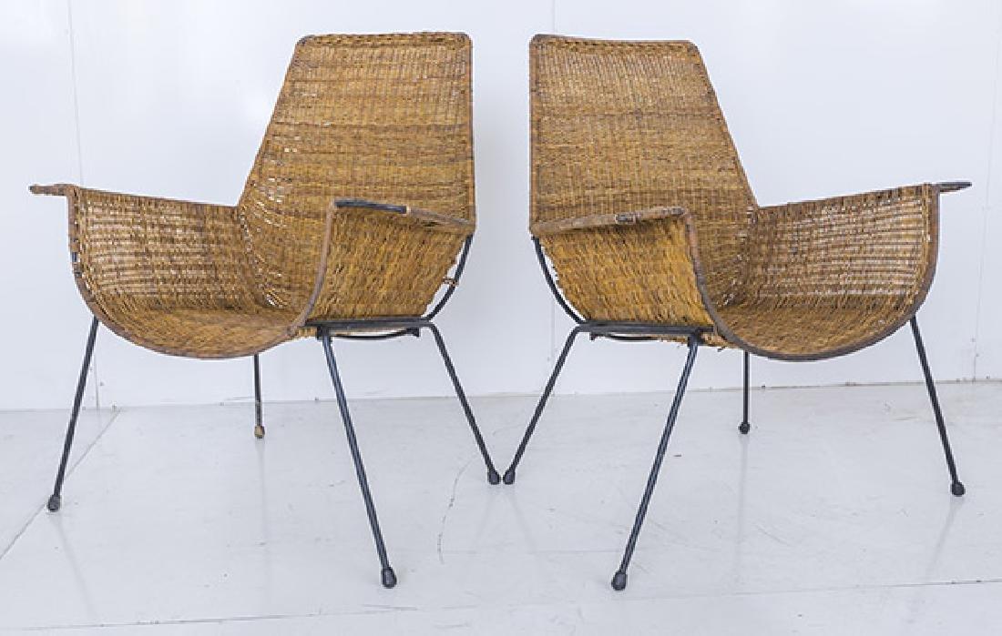 Hendrick Van Keppel & Taylor Green Lounge Chairs - 2