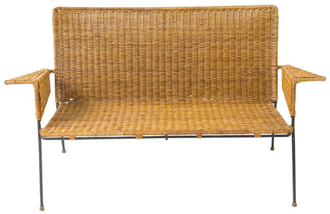 Hendrick Van Keppel & Taylor Rare Green Bench