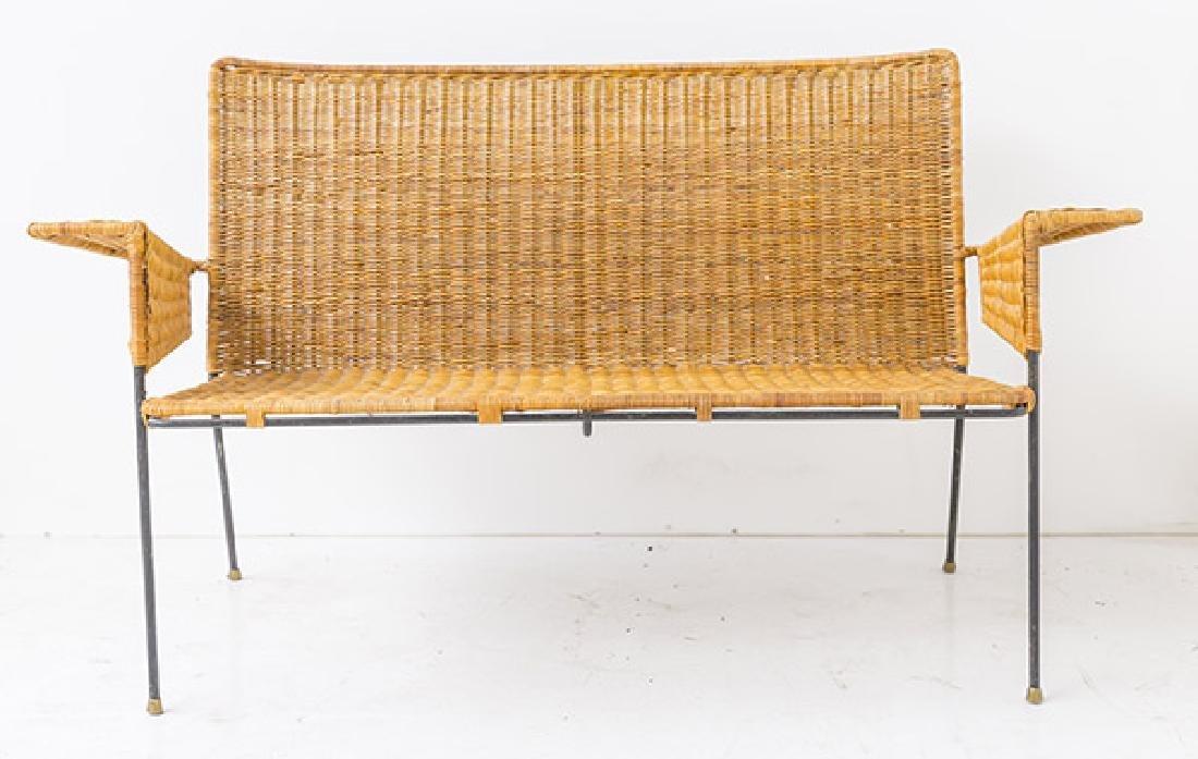 Hendrick Van Keppel & Taylor Rare Green Bench - 2