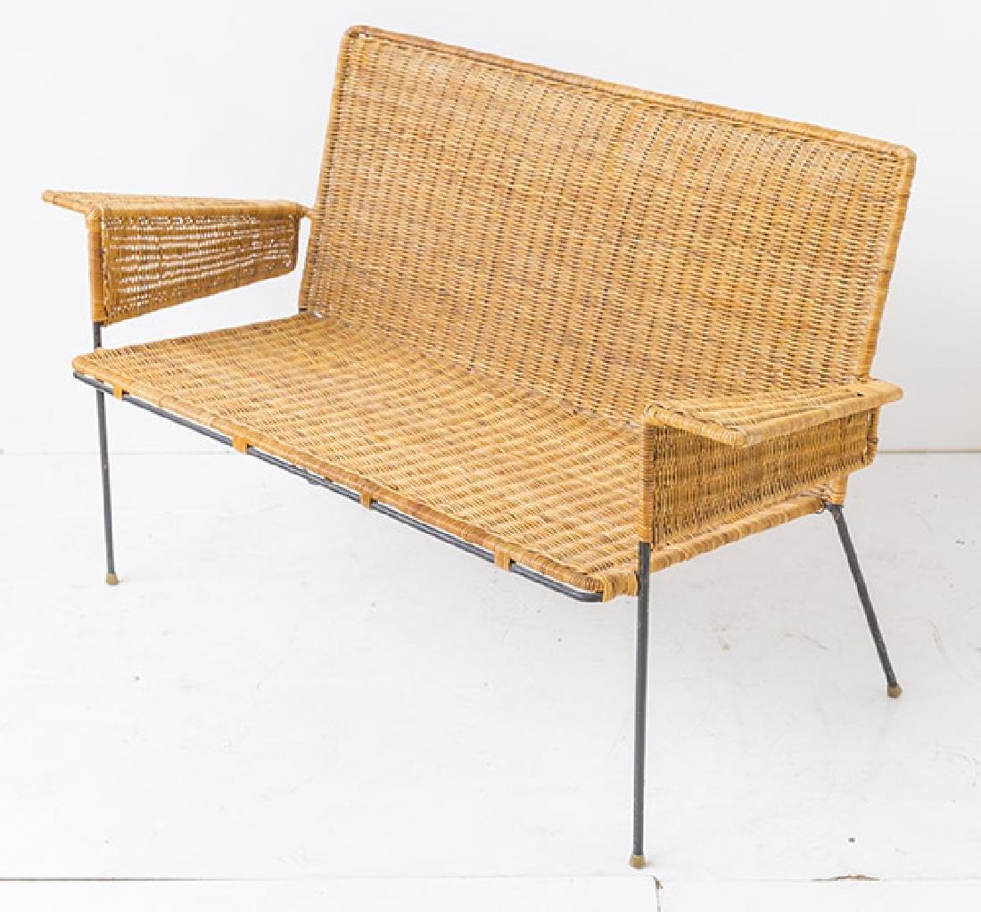 Hendrick Van Keppel & Taylor Rare Green Bench - 5
