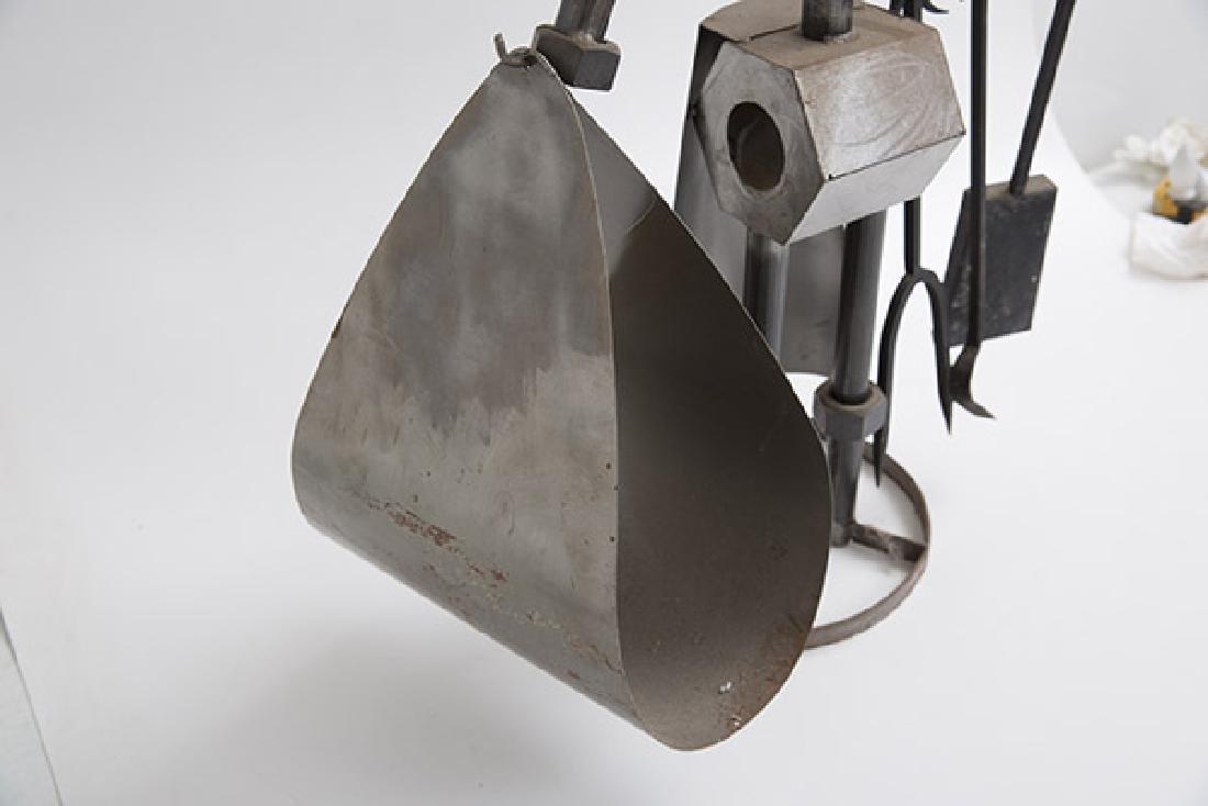 Sculptural Fire Tools & Stand - 6