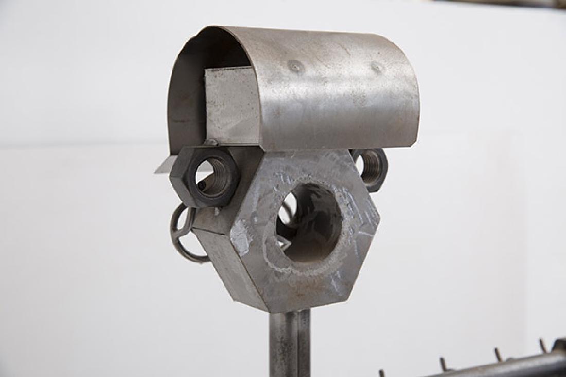 Sculptural Fire Tools & Stand - 8
