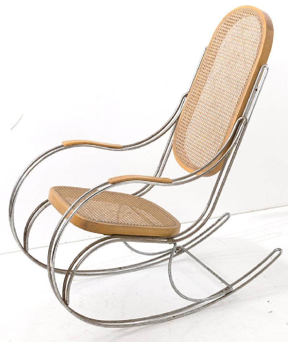 Vintage Italian Rocking Chair - 9