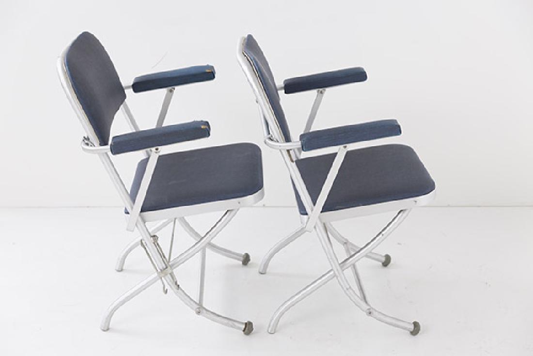 Warren McArthur Folding Chairs - 5
