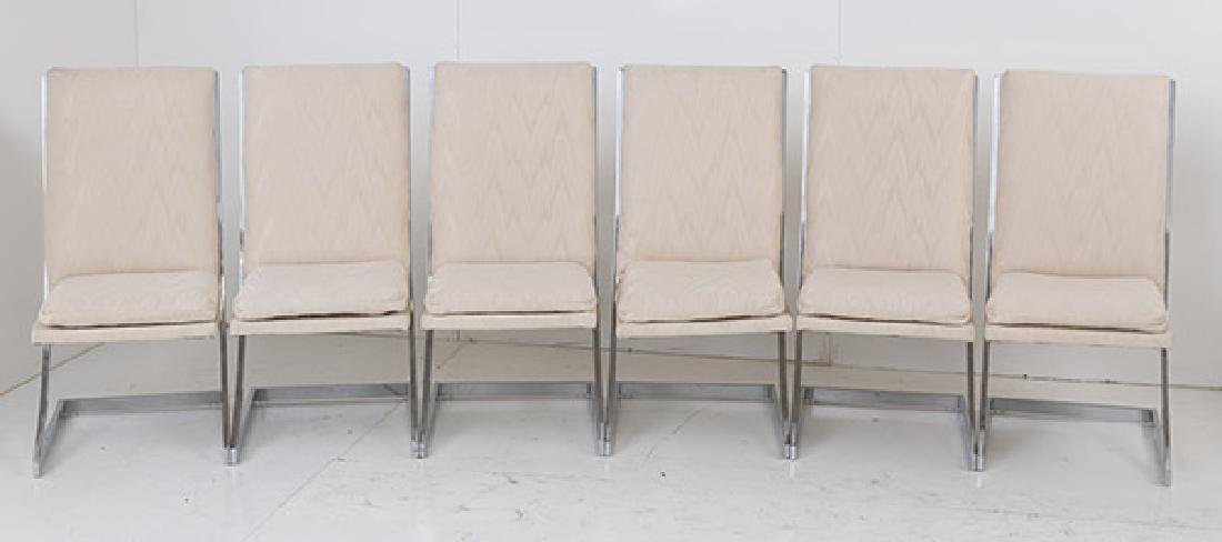 Milo Baughman (Attribution) Dining Chairs - 6