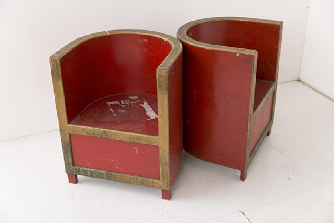 Art Deco Club Chairs - 2