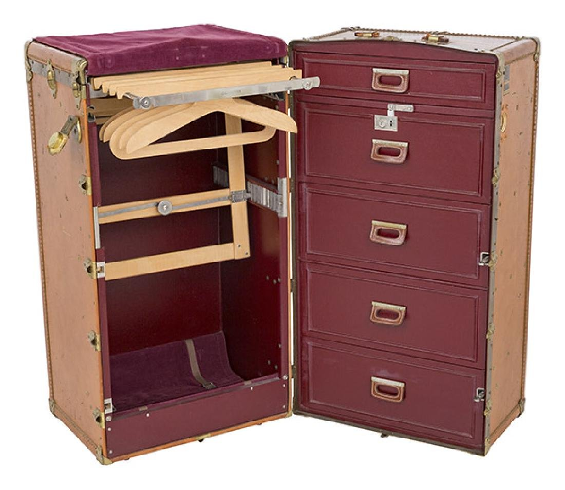 Vintage Oshkosh Steamer Trunk