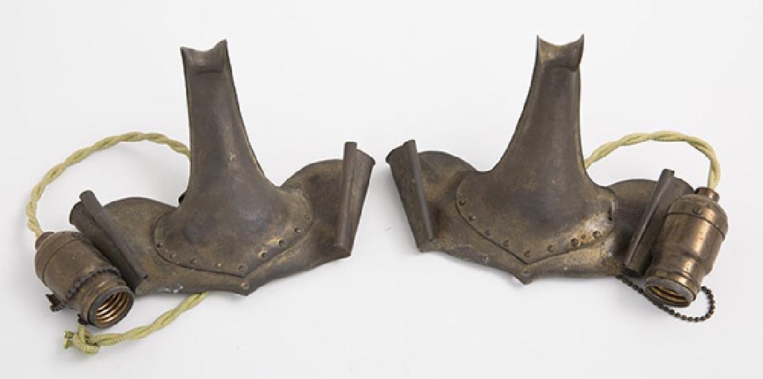 Art & Craft Hand-Hammered Sconces - 2