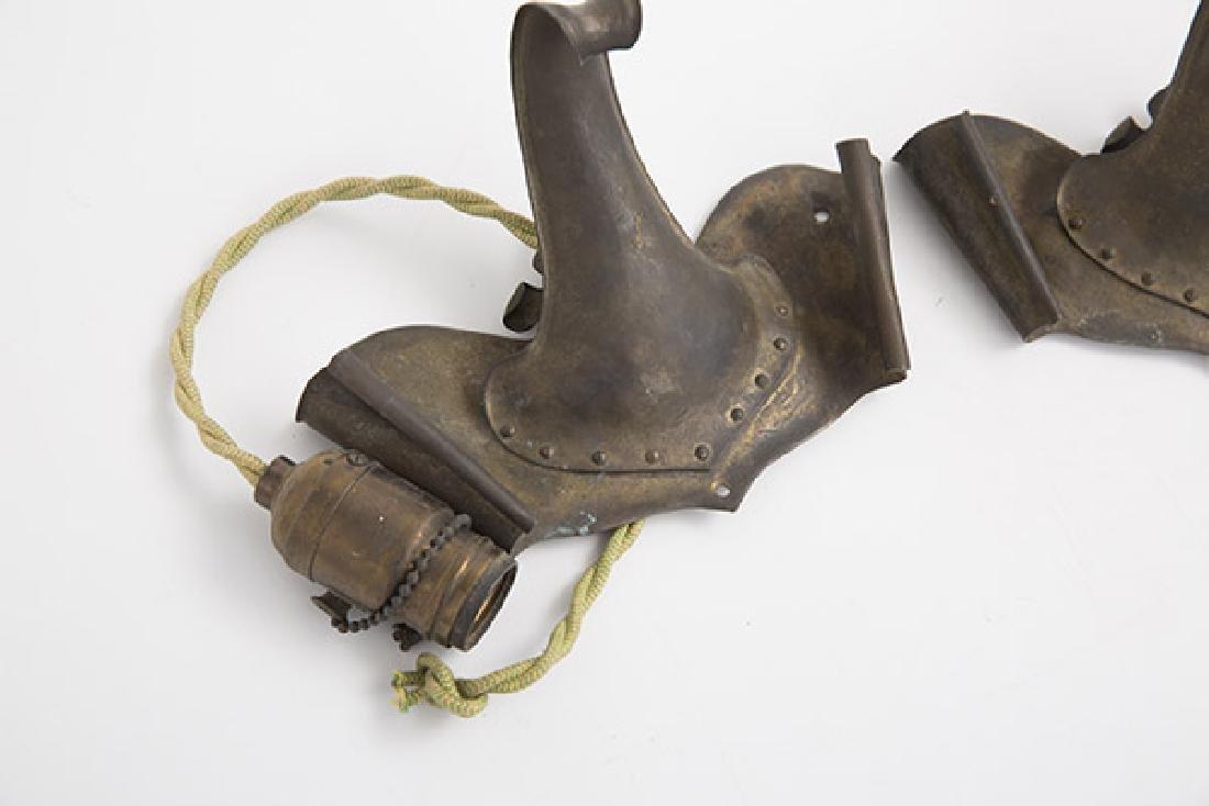 Art & Craft Hand-Hammered Sconces - 3