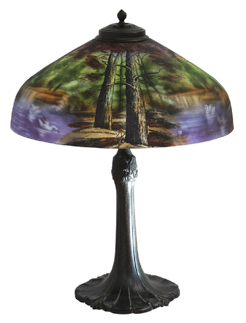 Pittsburgh Reverse Table Lamp