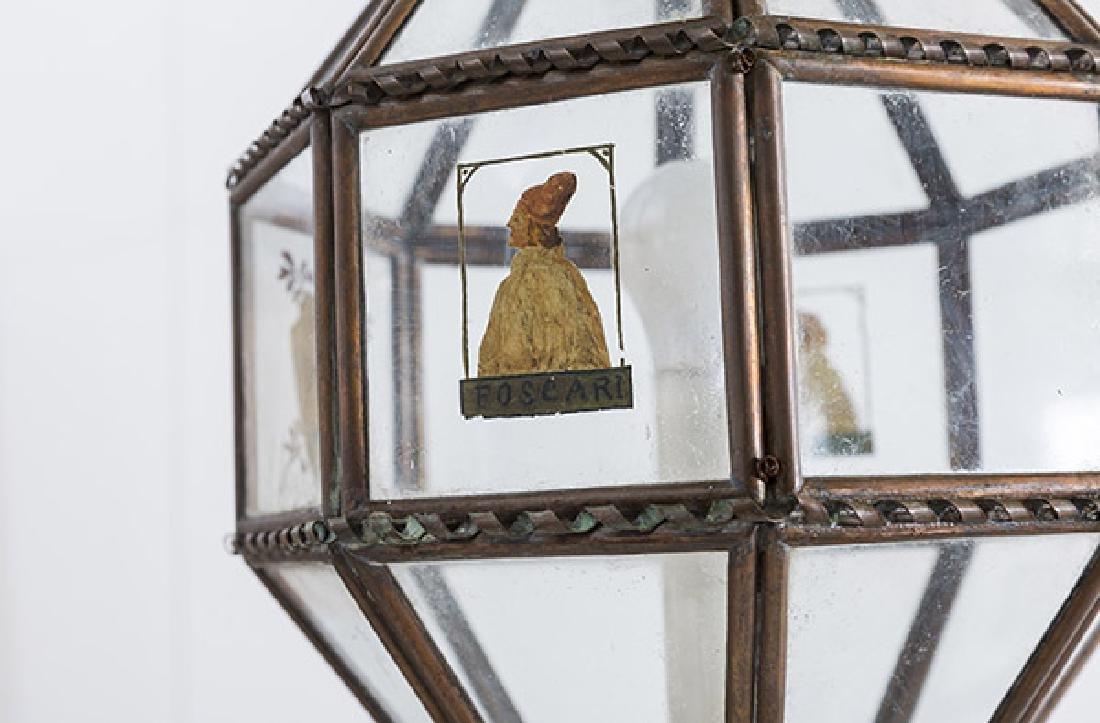 Italian Copper Hanging Pendant Light - 2
