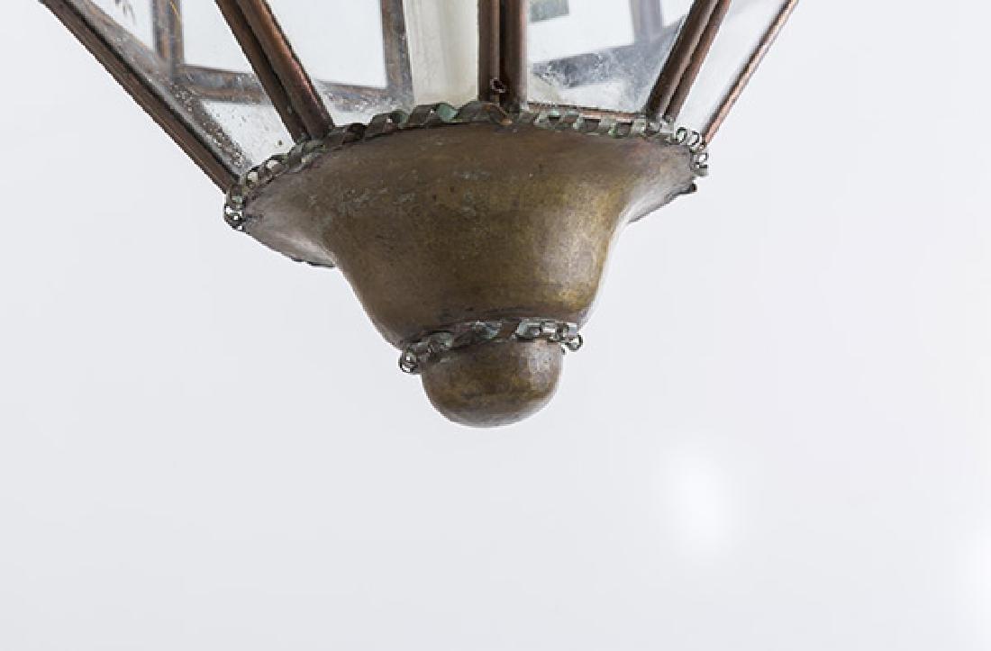 Italian Copper Hanging Pendant Light - 5